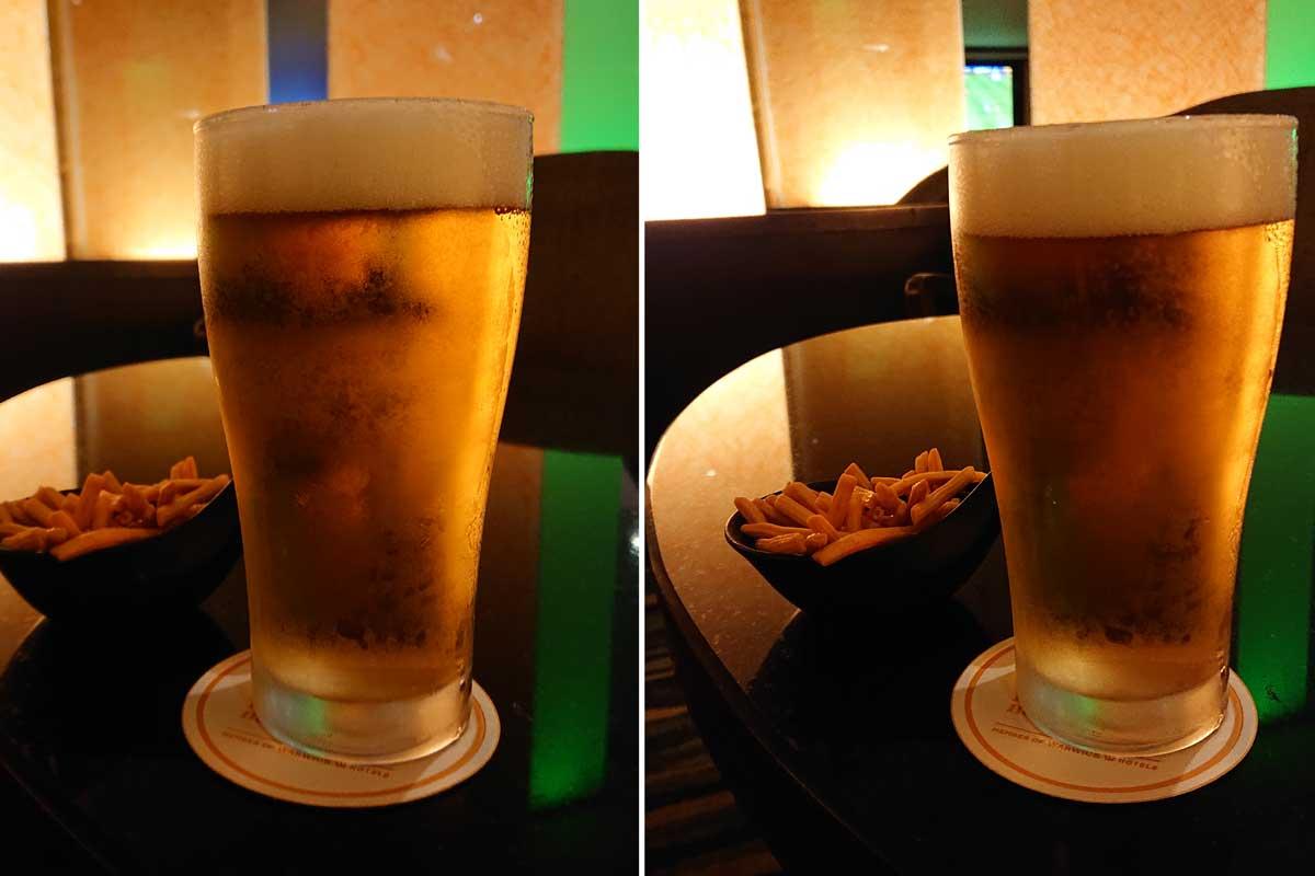 バンコクで生ビール レンブラントホテル